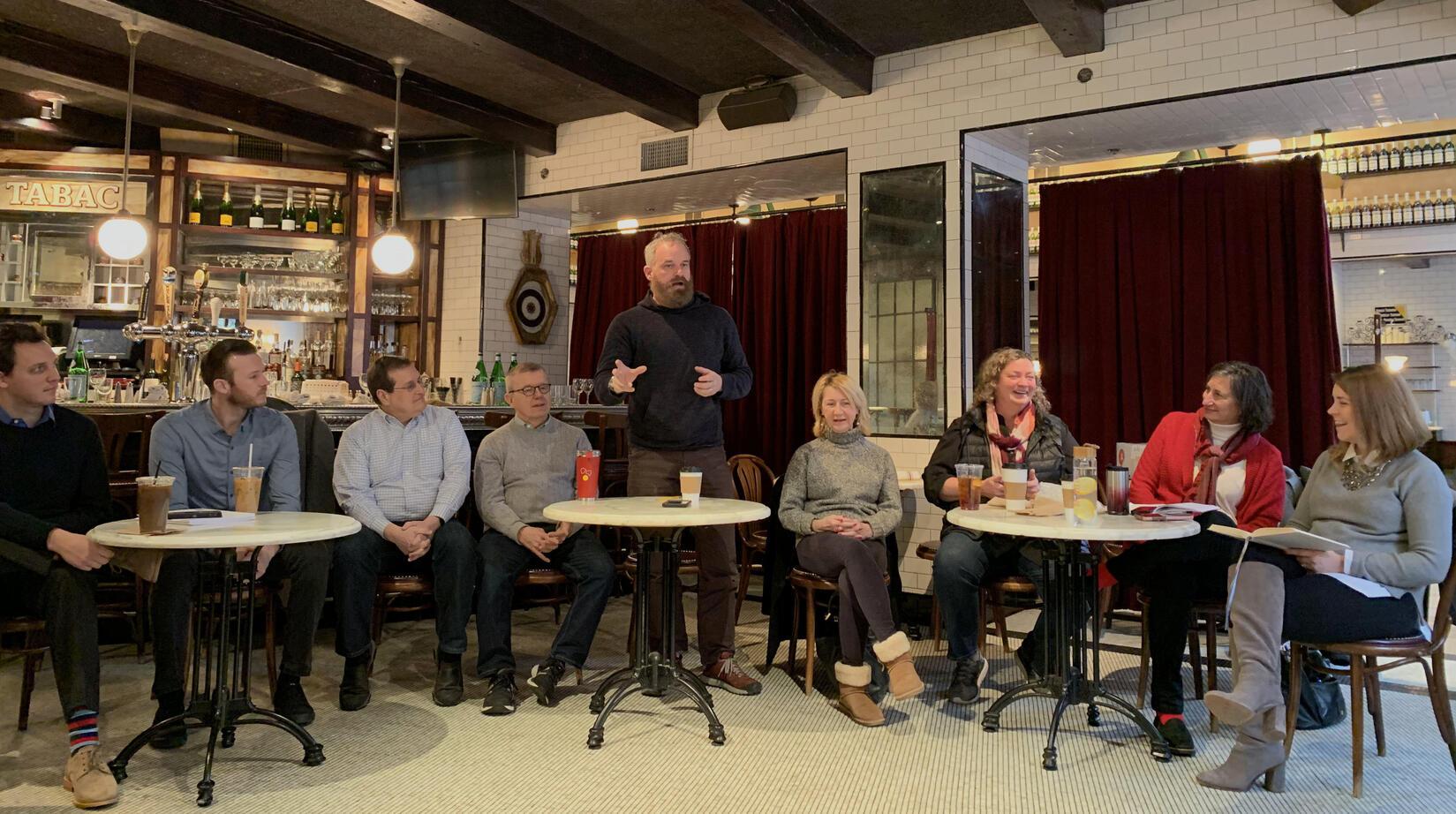 SEBNI meeting at Gaslight Restaurant